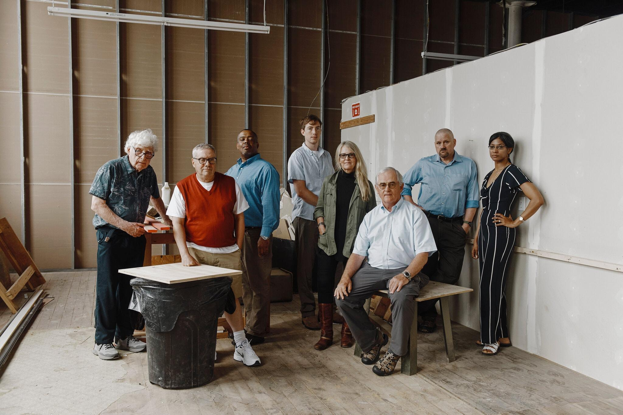 Staff of the New Bedford Light