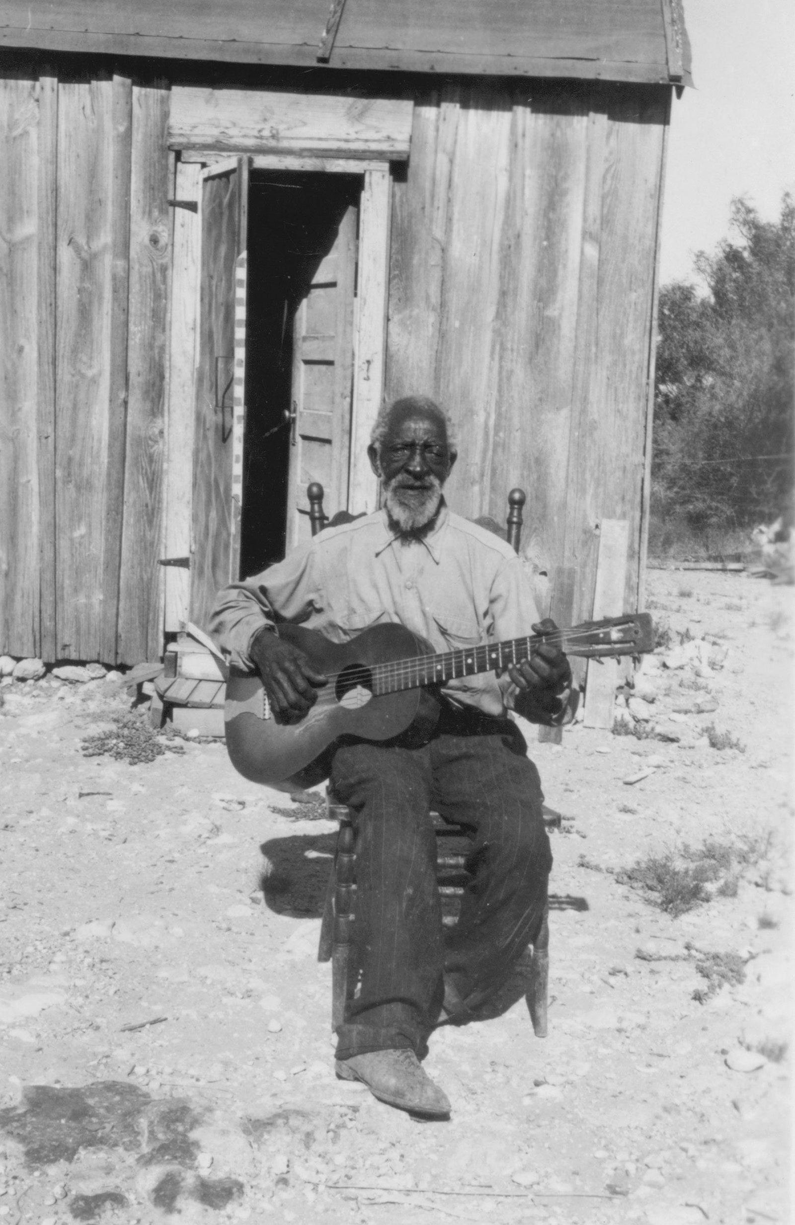 Photo of Elijah Cox, who was among the more than two thousand Black Americans interviewed by the project.